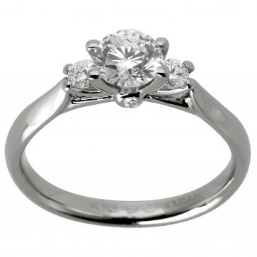 Каблучка з декількома діамантами 941-1131