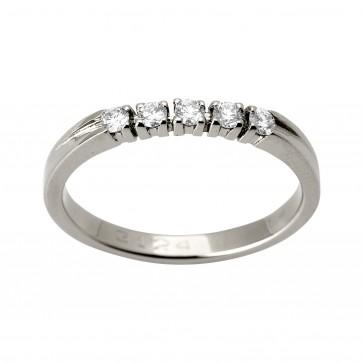 Каблучка з декількома діамантами 941-1168