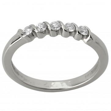 Каблучка з декількома діамантами 941-1204