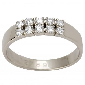 Обручка з декількома діамантами 941-1293
