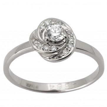 Каблучка з декількома діамантами 941-1452