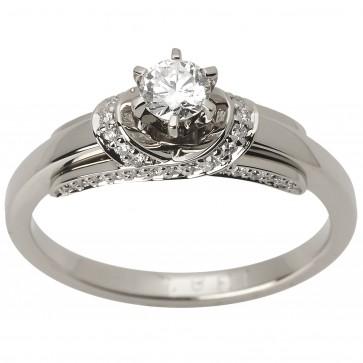 Каблучка з декількома діамантами 941-1509