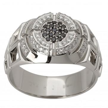 Перстень з декількома діамантами 941-1581