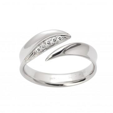 Каблучка з декількома діамантами 941-1603
