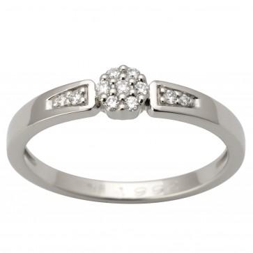 Каблучка з декількома діамантами 941-1657