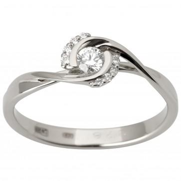 Каблучка з декількома діамантами 941-1789