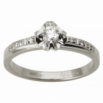 Каблучка з декількома діамантами 941-1806