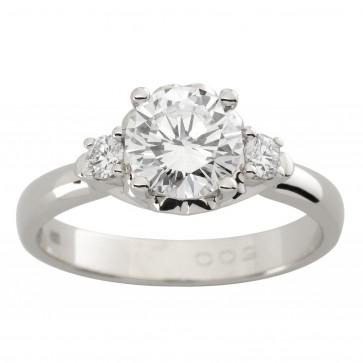 Каблучка з декількома діамантами 941-1810