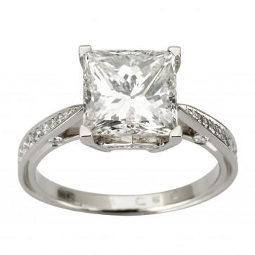 Каблучка з декількома діамантами 941-1864