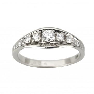 Каблучка з декількома діамантами 941-1929
