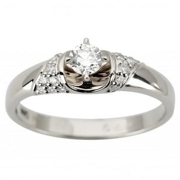 Каблучка з декількома діамантами 941-1939