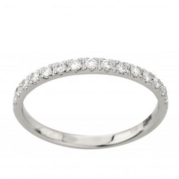 Обручка з декількома діамантами 941-4042