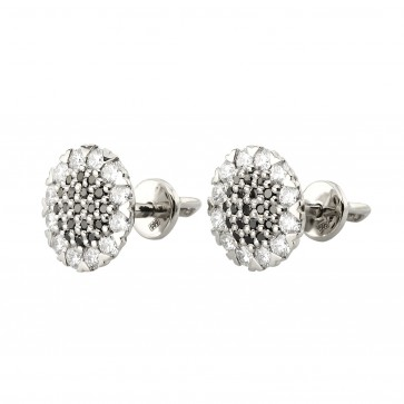 Сережки з декількома діамантами 942-0975