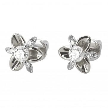 Сережки з декількома діамантами 942-1066