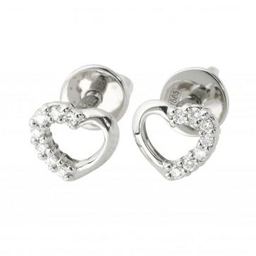 Сережки з декількома діамантами 942-1214
