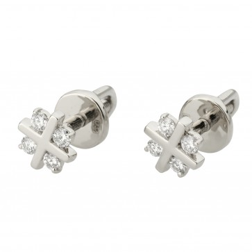 Сережки з декількома діамантами 942-1260