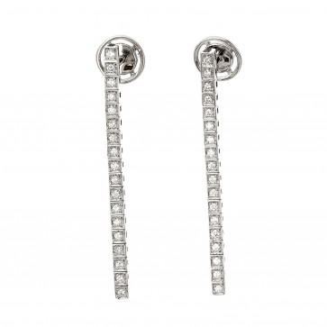 Сережки з декількома діамантами 942-1348