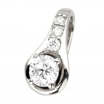 Підвіска з декількома діамантами 949-0827