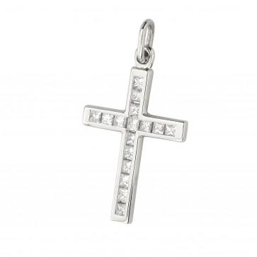 Хрест з декількома діамантами 949-1011