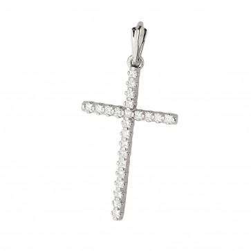 Хрест з декількома діамантами 949-1012