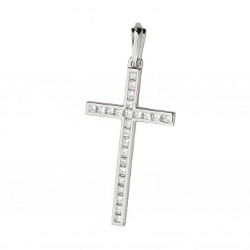 Хрест з декількома діамантами 949-1017