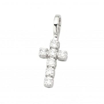 Хрест з декількома діамантами 949-4000