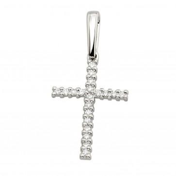 Хрест з декількома діамантами 949-4005