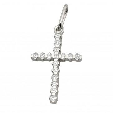 Хрест з декількома діамантами 949-4017