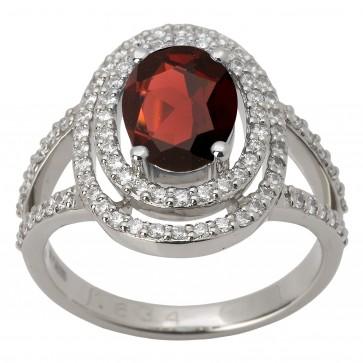 Каблучка з діамантами та кольоровим камінням 981-1380