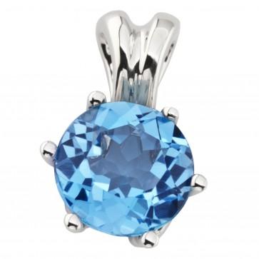 Підвіска з діамантами та кольоровим камінням 989-0860