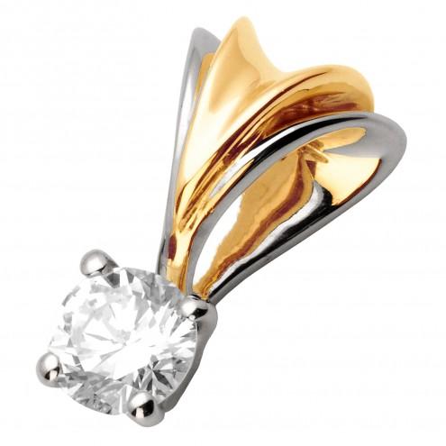 Підвіска з 1 діамантом 329-0560