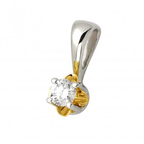Підвіска з 1 діамантом 329-0578