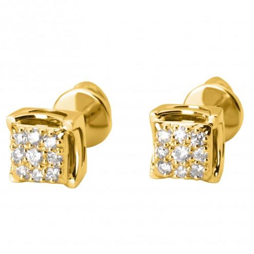 Сережки з декількома діамантами 342-2003