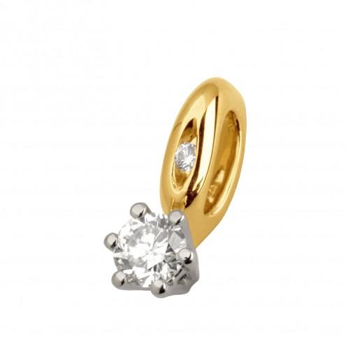 Підвіска з декількома діамантами 849-0663