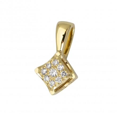 Підвіска з декількома діамантами 349-1001
