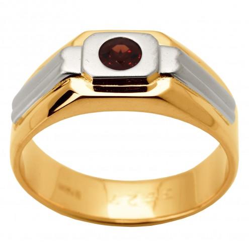 Перстень з кольоровим камінням 801-1339