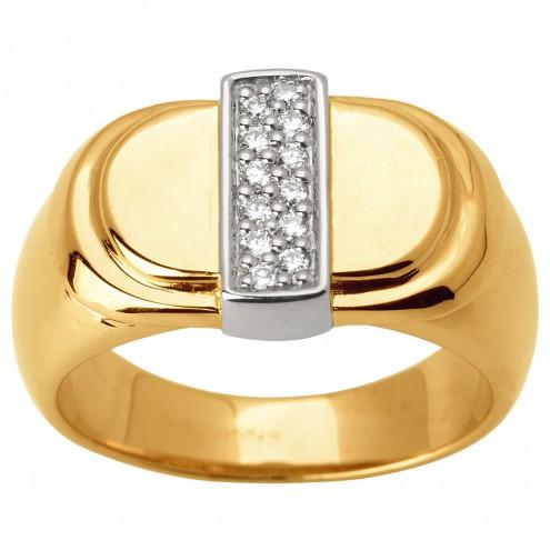 Перстень з декількома діамантами 841-1624