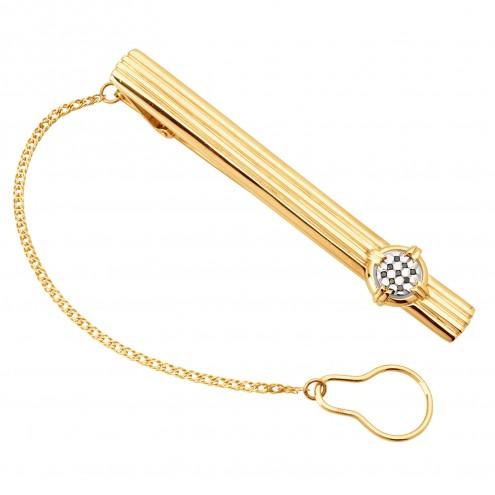Затискач для краватки з декількома діамантами 845-0088