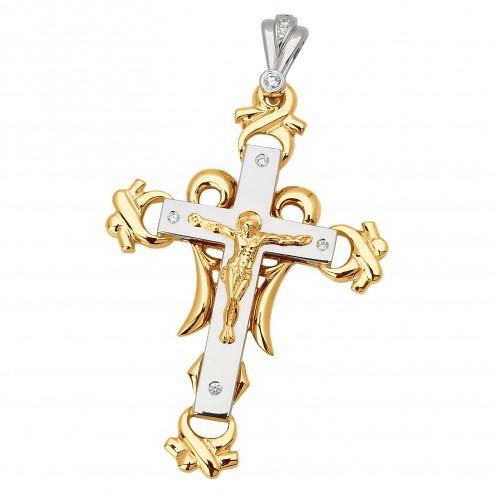Хрест з декількома діамантами 849-0547