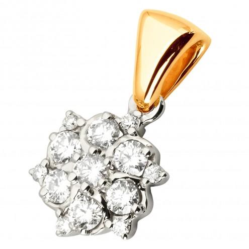 Підвіска з декількома діамантами 849-0804