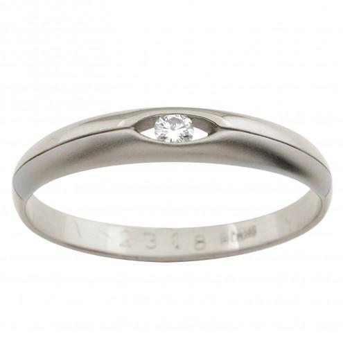 Обручка з 1 діамантом 921-0325