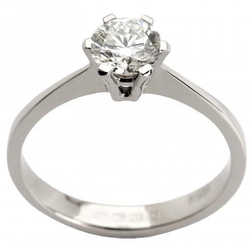 Кольцо с 1 бриллиантом 921-0610