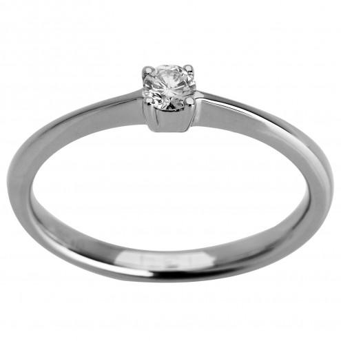 Каблучка з 1 діамантом 921-0962