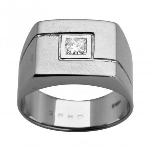 Перстень з 1 діамантом 921-1049