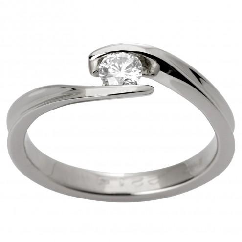 Каблучка з 1 діамантом 921-1059
