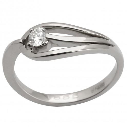 Каблучка з 1 діамантом 921-1411