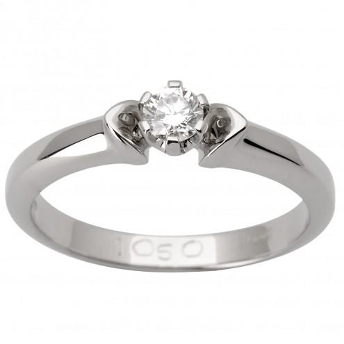 Каблучка з 1 діамантом 921-1493