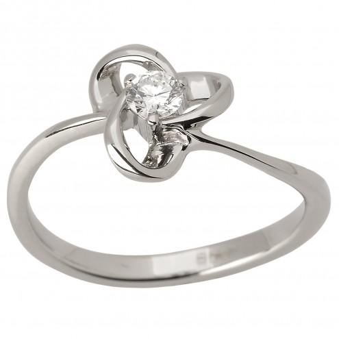 Каблучка з 1 діамантом 921-1566