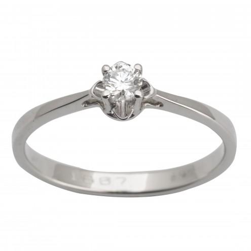 Каблучка з 1 діамантом 921-1615