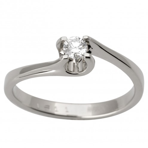 Каблучка з 1 діамантом 921-1759